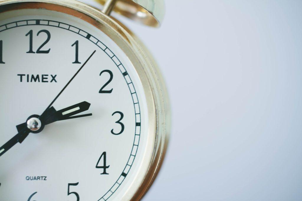 限られた時間をどう使うかが大切